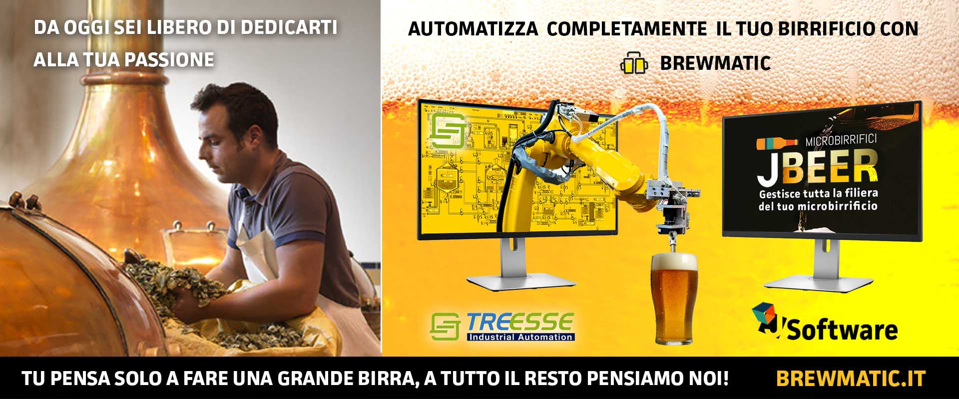 BRewmatic automazione birrificio